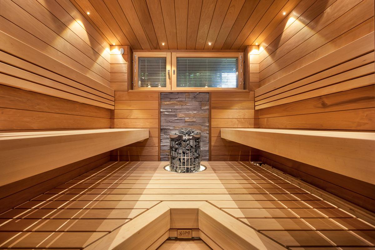 Tervaleppä sopii saunaan ja laudepuuksi.