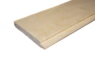 Aspen panel flat TG 15 x 120 mm