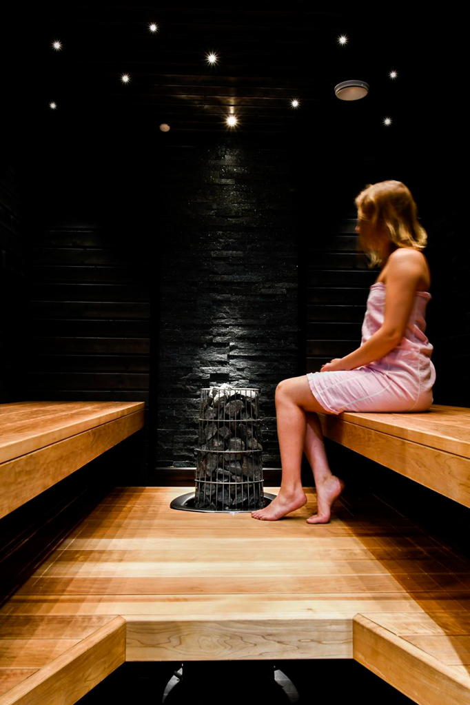 Kestävä lämpökäsitelty haapa sauna