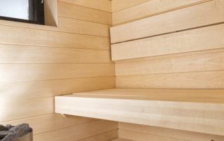 Lumitrendi sauna aspen panel.