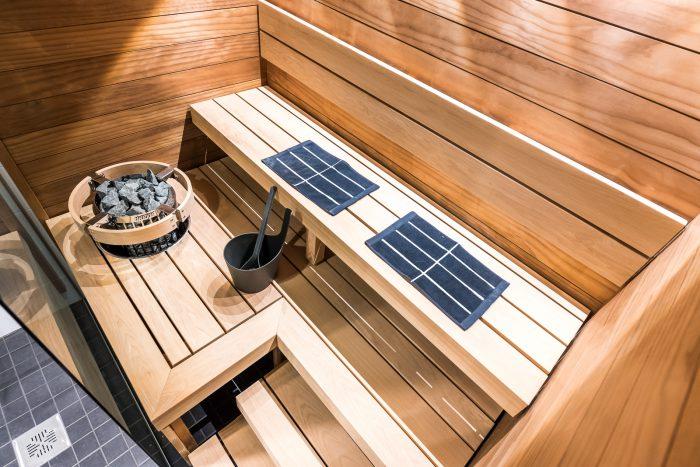 Lämpökäsitelty haapa on erinomainen materiaali saunaan - Lumitrendi 140