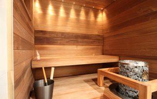 Lämpöhaapa sopii saunaan. Kuvassa Lumitrendi 140, lämpöhaapa.