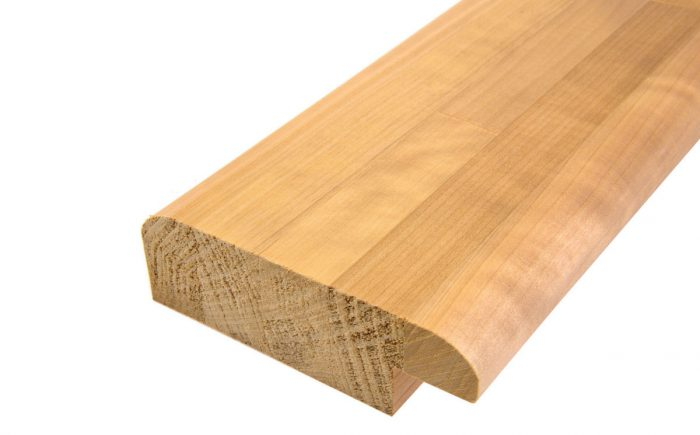 Lämpöhaapa etureunapuu 40 x 125 mm